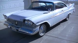 1959 Plymouth Sport Fury - Test Drive & Review