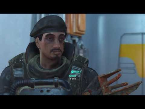 Fallout 4 Far Harbor - Institute Alternate Ending!
