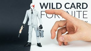 Wild Card & Suppressed Pistol (Fortnite Battle Royale) - Polymer Clay Tutorial
