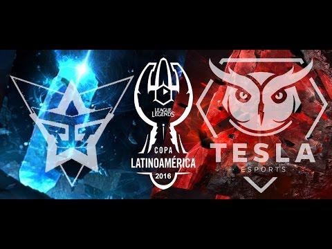 Tesla E-Sports Vs Galactic Gamers Match 2 Copa Latam