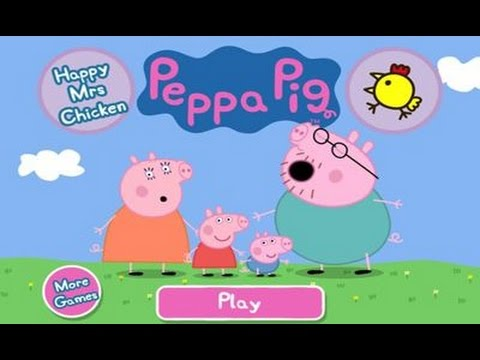 Peppa Pig - Happy Mrs Chicken by P2 Games - iPad app demo for kids
