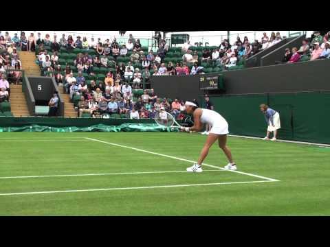 2011.06.20 125th ウィンブルドン 1st round Kimiko Date-Krumm vs Katie O'Brien (3)