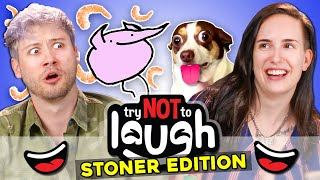 Try To Watch This Without Laughing or Grinning (Stoner Edition)