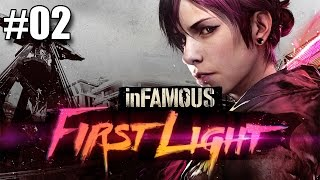 InFamous : First Light Playthrough #02 - Fucking Ruskov
