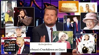 James Corden Breaks Down April 2017
