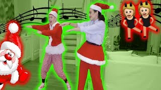 HOLIDAY DANCE BATTLE TO OUR SONGS WITH MIRANDA SINGS!!!