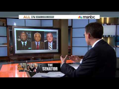 Chris Hayes discusses why there are few black senators with Rep. Butterfield