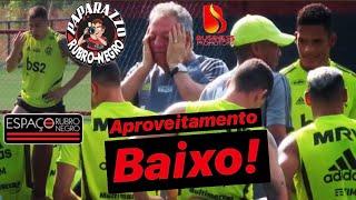Flamengo tem aproveitamento assustador nos últimos 30 dias! A hora de Piris! Presidente abre o jogo!