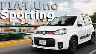 FIAT Uno Sporting 2016 a prueba
