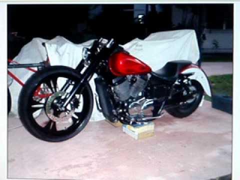Custom Honda Bagger Motorcycles Custom Honda Shadow Bagger