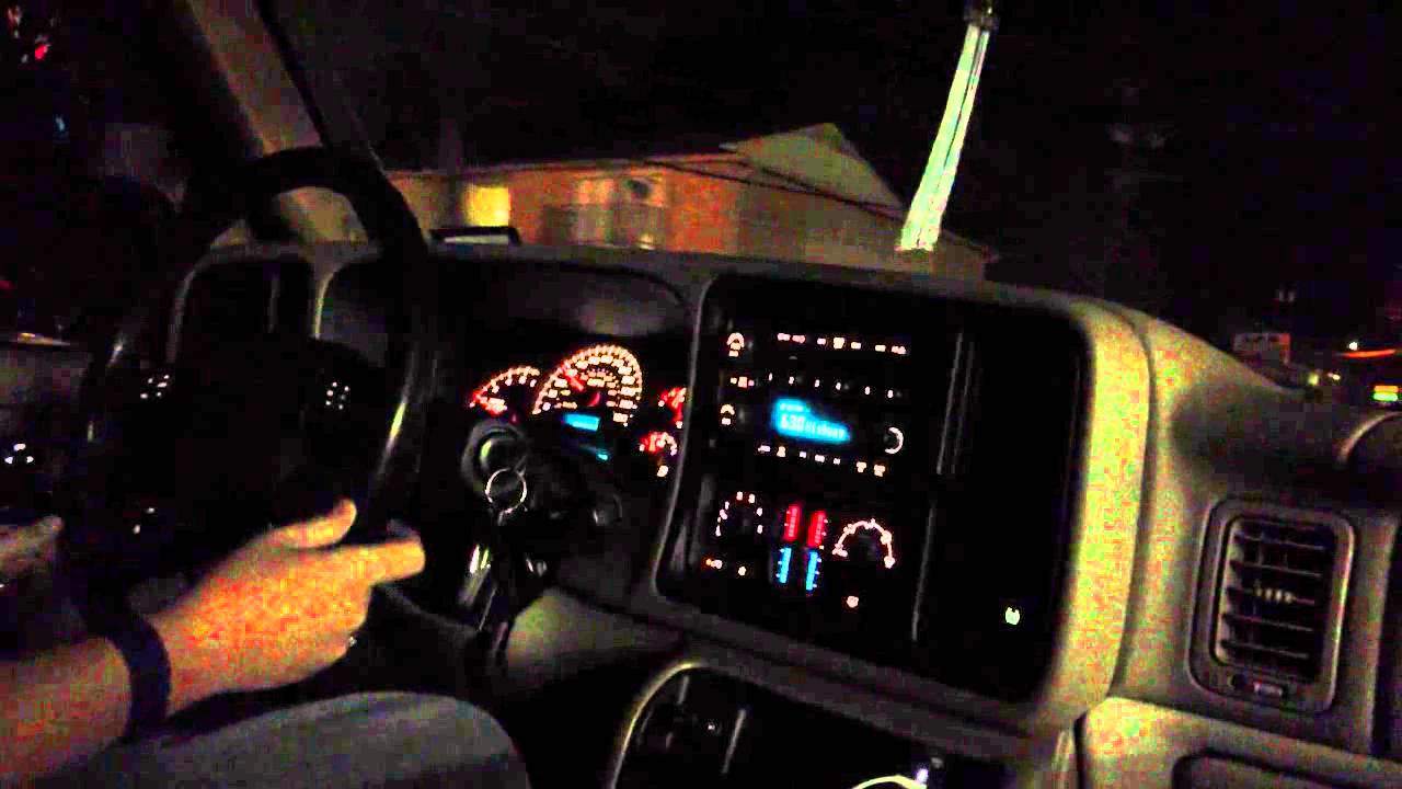 2012 Ford F 150 Platinum Night Time Driving in my 2005 Chevy Tahoe Z71 - YouTube