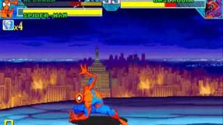 Marvel vs Capcom Mega Man/Spider-Man Playthrough 3/3