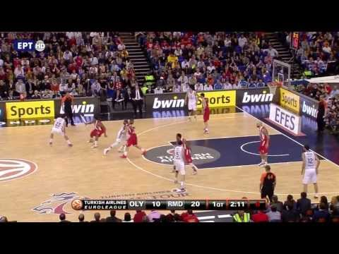 Olympiakos - Real Madrid 100-88 (όλα τα καλάθια) HD