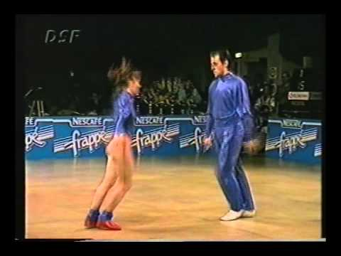 Dorothée Blanpain & Miguel Angueira - World Masters Paris 1993