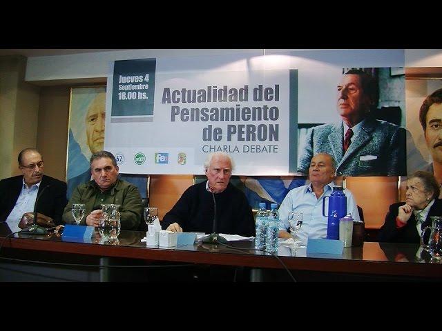 El Pensamiento de Perón - Venegas, Schmidt, Cirnigliaro, Solanas, Miguel