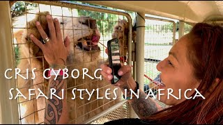 "UFC Star Cris Cyborg MMA Visits South Africa ""Cyborg Nation Destination: Africa"" Ep. 1/7"