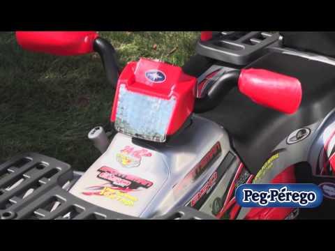 Peg Perego Polaris Sportsman 850 Silver