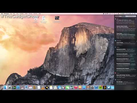 OS X Yosemite Preview The Gadget Show