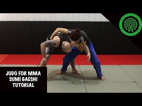Judo for MMA No Gi Sumi Gaeshi (Sacrifice Throw) Tutorial Image 1