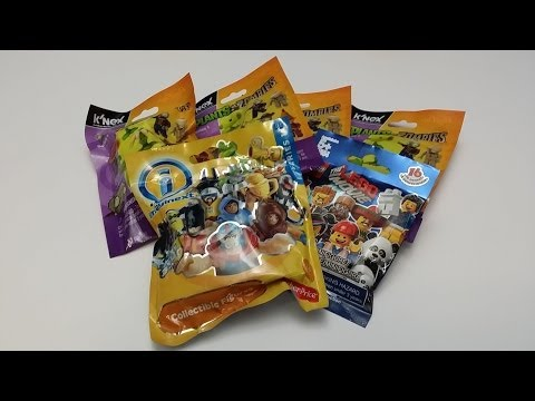 6 Surprise Blind Bags Plants vs. Zombies The Lego Movie Imaginext