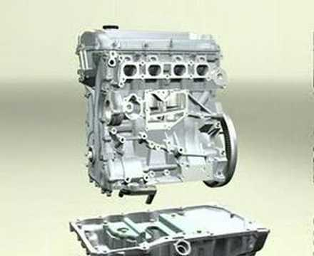 DOHC 4 cylinder engine Video - Part 1