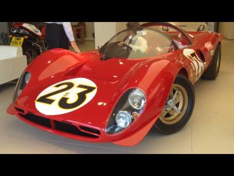 Ferrari 330 P4 Le Mans exact replica w/Dino engine approved by Ferrari on the road