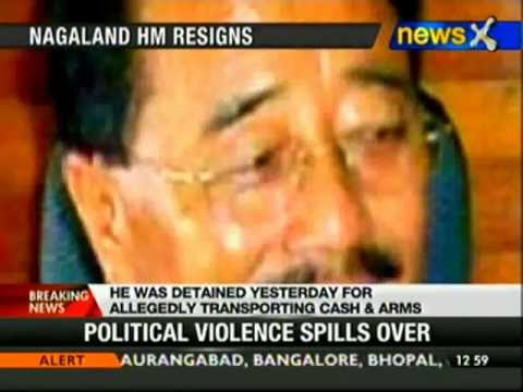 Nagaland Home Minister resigns