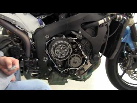CBR 600RR Slipper Clutch Install Part 1 of 2