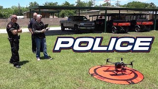 The Police Matrice Drone - KEN HERON