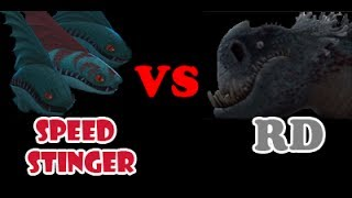 Speed Stinger Pack vs Red Death