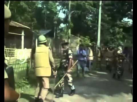 Assam - Nagaland Border Violence - 99tv