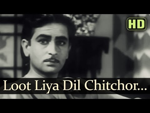 Loot Liya Dil Chitchor Ne (HD) - Dil Ki Rani Songs - Raj Kapoor...
