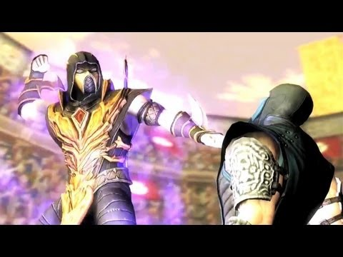 Injustice Gods Among Us Scorpion DLC Trailer