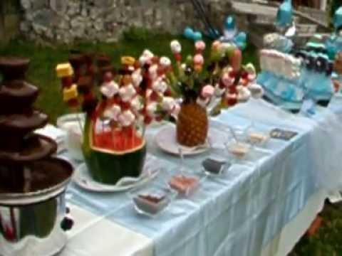 Mesa de dulces youtube - Decoracion marinera barata ...