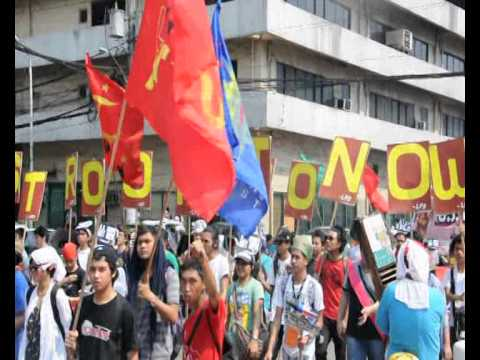 Cont.Protests greet Obama in Manila as defence pact signed...