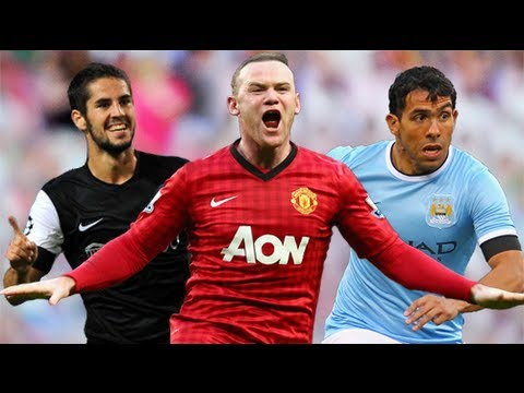 Wayne Rooney is listed (or ranked) 5 on the list The Top Soccer Players of 2012