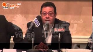 يقين | محمد هاني : تحكم الاعلام في المادة الاعلامية مشكلة مزمنة لم نصل لحل اليها حتي الان