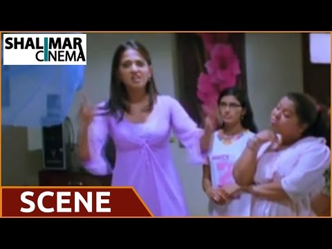 Souryam Movie || Anushka's Oil Massage Video video