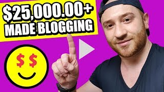 How To Start A Blog (PROFITABLE) 😀 Make $25,000.00+ (Step By Step) 2018 😍