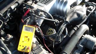 Mustang 5.0 Throttle Position Sensor Adjustment TPS