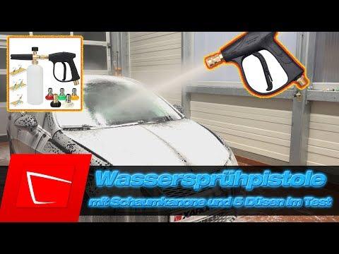 Wasserspr Hpistole Mit Schaumlanze Schaumkanone Plus