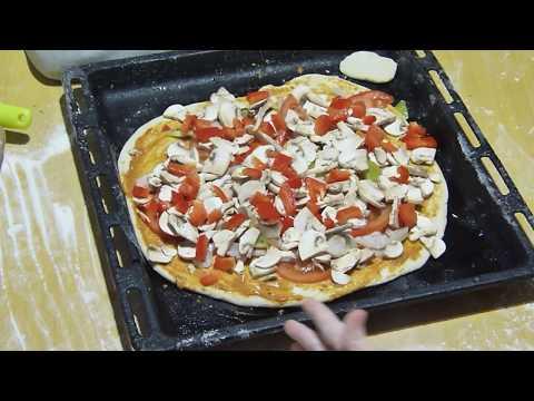 Как сделать пиццу постную