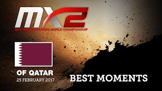 2017 MXGP of Qatar MX2 Qualifying Best Moments #motocross