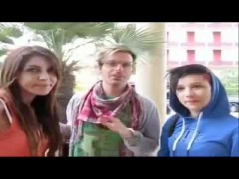 Veronica Ciardi, Maicol Berti e Francesca Nicolì – Festa di Visto estate 2011 – Milano Marittima
