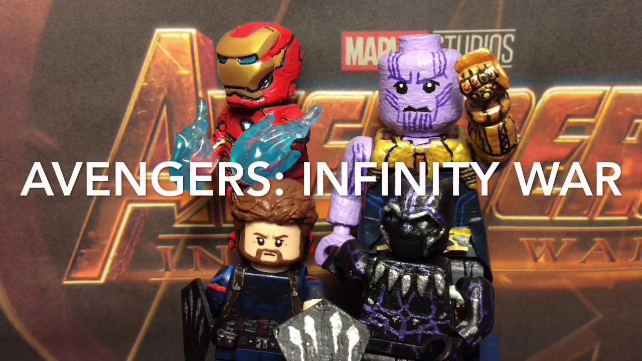 Custom Lego Avengers Infinity War Minifigures Showcase Funko Pop Marvel Avenger 3 Captain America Nomad