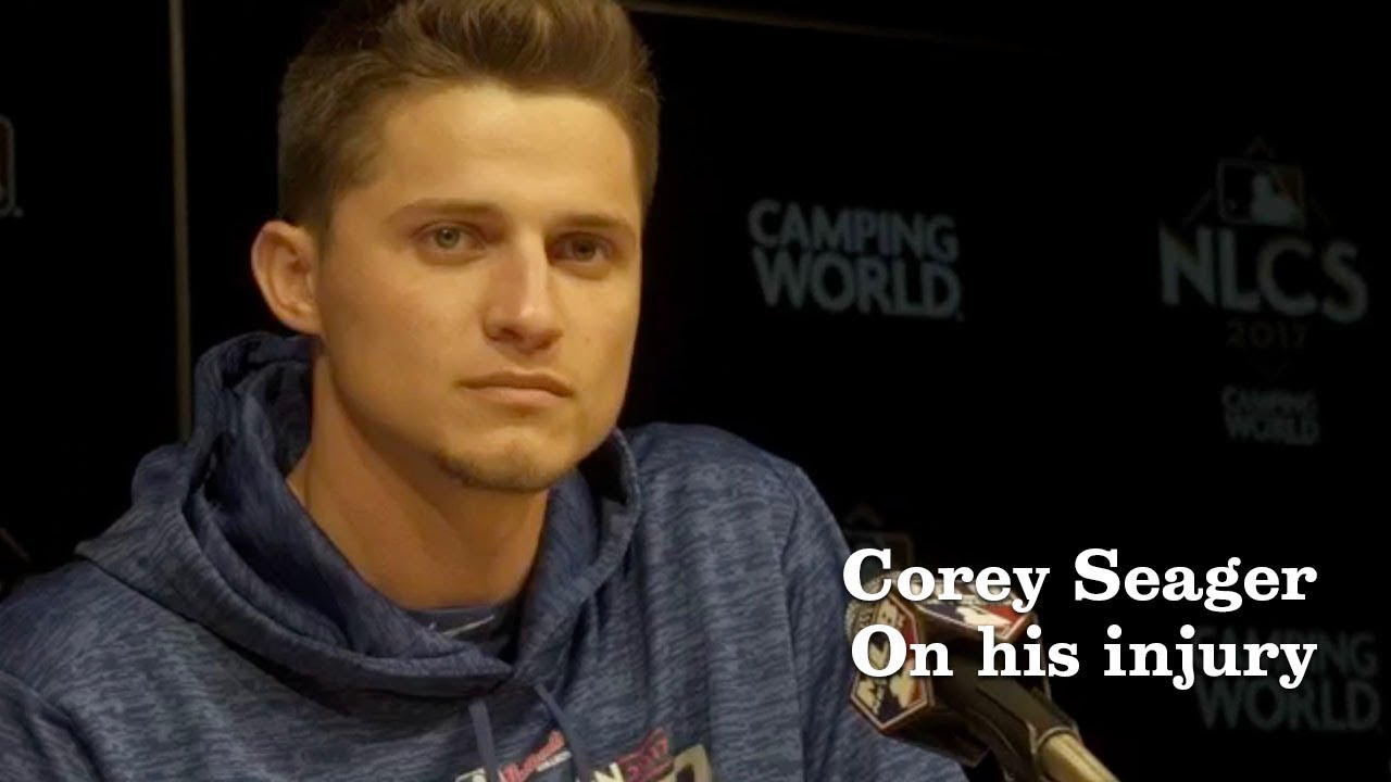 Corey Seager on his injury and going forward | Los Angeles Times