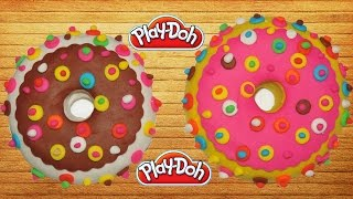 How To Make Doughnuts Play Doh