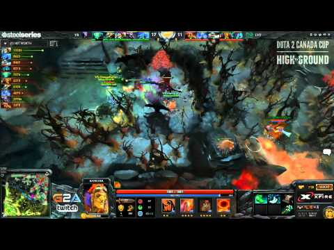 Dota 2 Canada Cup Season 4 - Quarter Finals (Void Boys vs Leviathan) Game 3