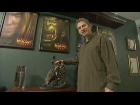 A visit to Mike Morhaime's office