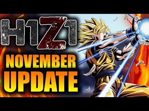 New NOVEMBER H1Z1 Update! New Skins, Pre-Season 7 Begins and New Recoil Update! (H1Z1 Patch Notes)